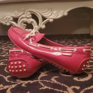 Cole Haan Peach Pink Loafers. Size 8.5